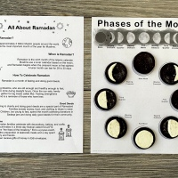 Virtual Ramadan Lesson and Moon Phases Activity